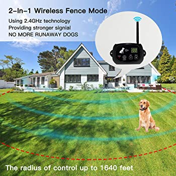 Nacrl 2-in-1 Dog Fence