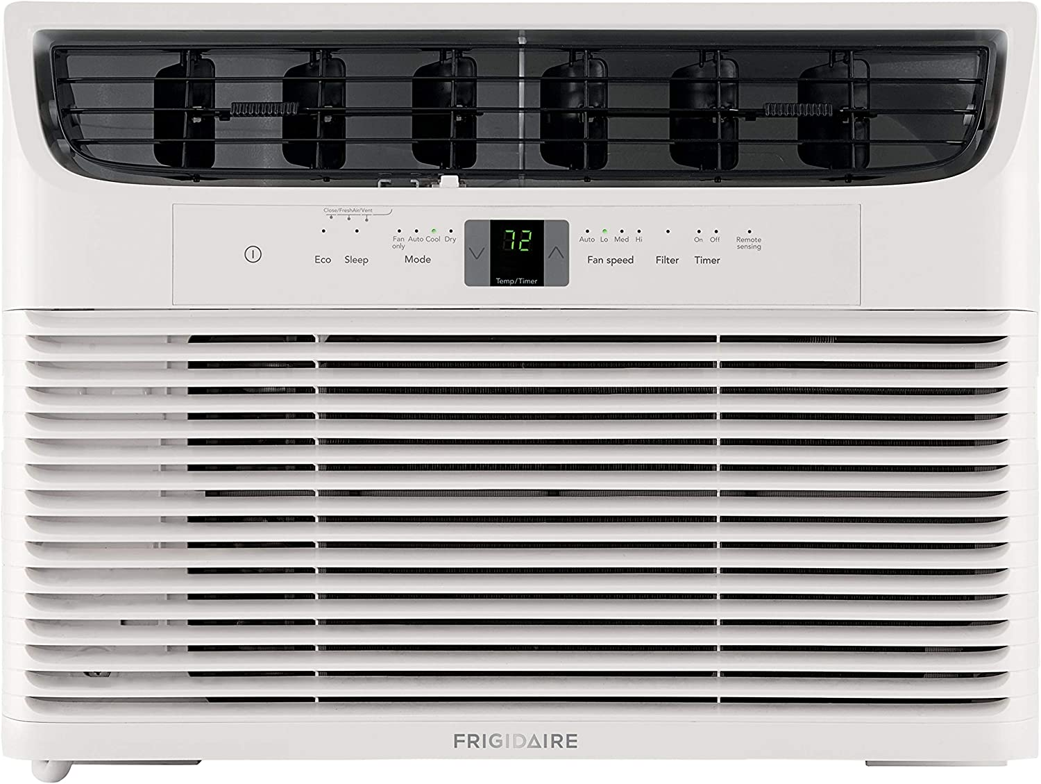 Frigidaire 10,000 BTU 115V Window-Mounted Compact Air Conditioner with Remote Control, White