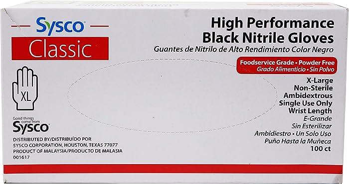 The Best Black Nitrile Gloves Xl Food Grade