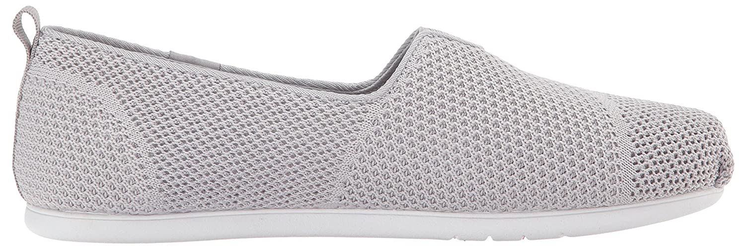 Skechers BOBS from Women's Plush Lite Flat B01EBDSOWC 7 B(M) US|Gray