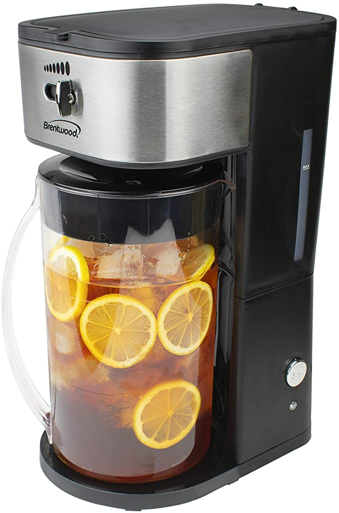 Brentwood KT 2150BK Iced Tea And Coffee Maker