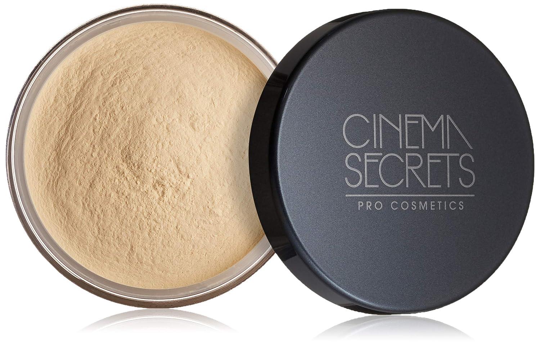 CINEMA SECRETS Pro Cosmetics Ultralucent Loose Setting Powder, Soft Custard