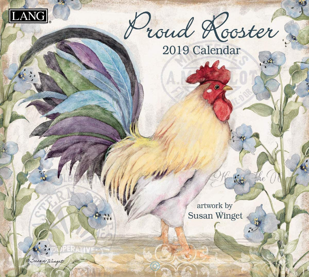 The Lang Companies Proud Rooster 2020 Wall Calendar (20991001936)
