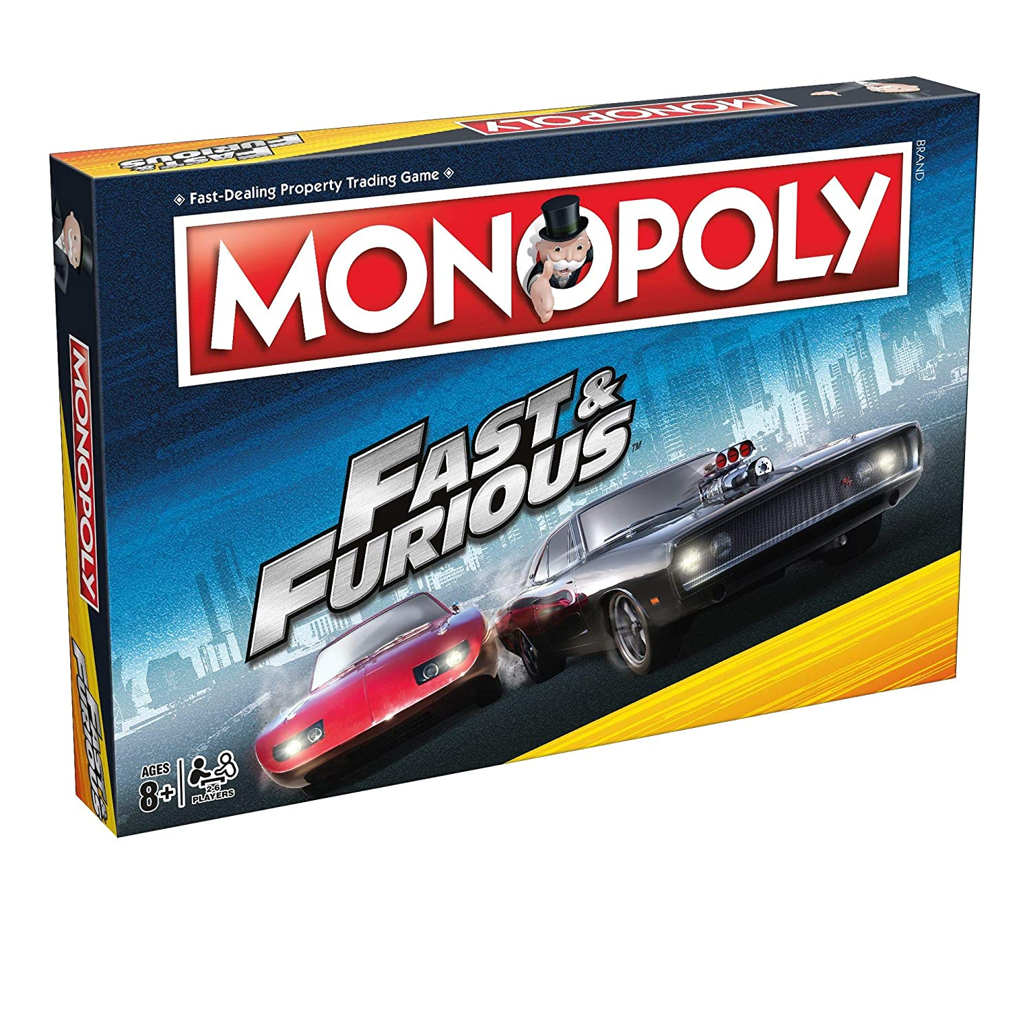 Fast And The Furious Kids The Movie Monopoly Spielbrett