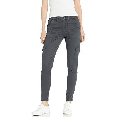 Brand - Daily Ritual Women's Stretch Cotton/Lyocell Skinny Cargo Pant: Clothing