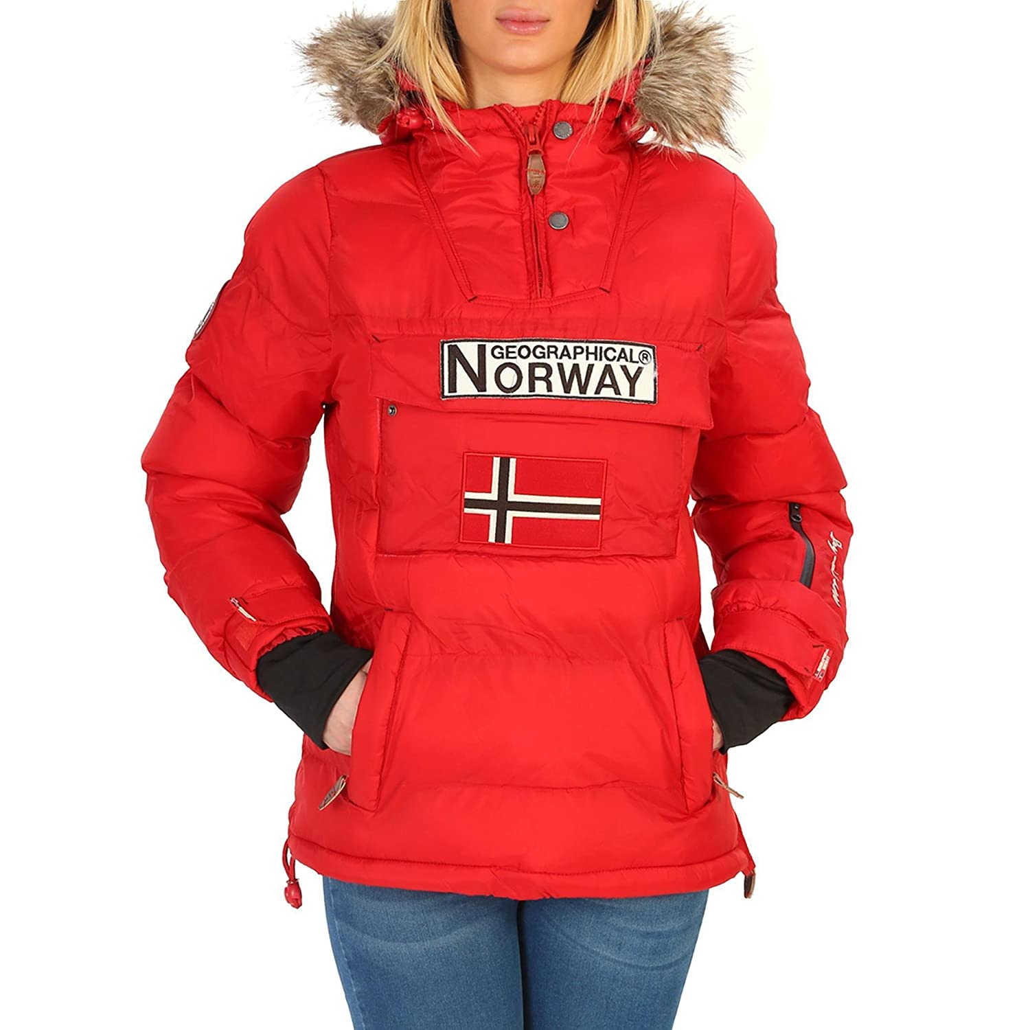 Geographical Norway Anson_woman Chaquetas Mujer Azul 3 ...