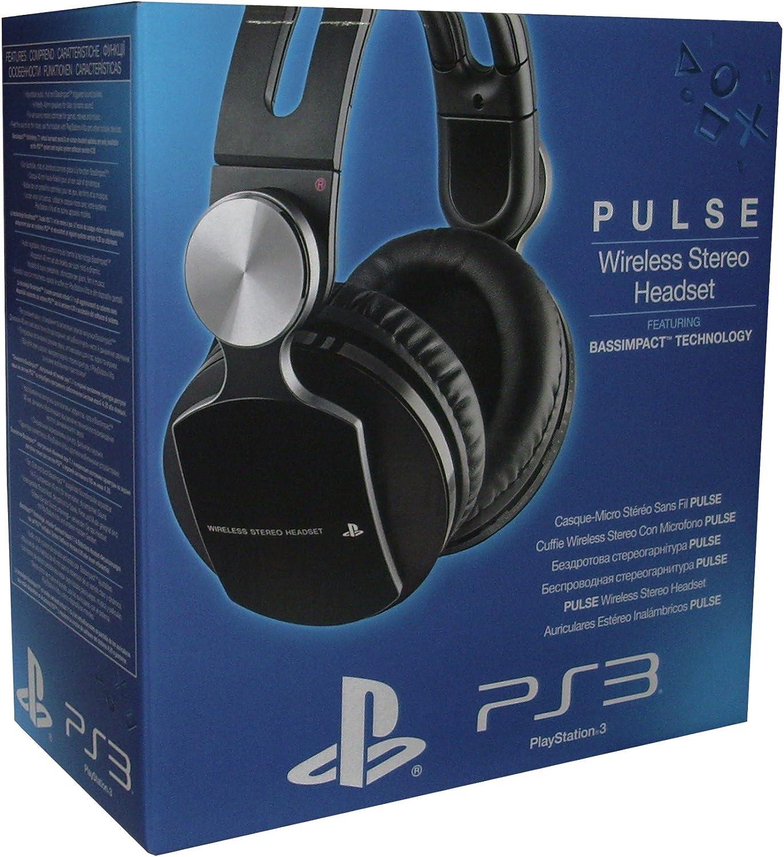 Sony PlayStation 3 - Headset Estéreo Inalámbrico Premium Pulse: Amazon.es: Videojuegos