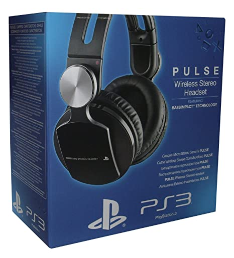 c16c2aea010972 PlayStation 3 - Pulse Wireless Stereo Headset: Amazon.it: Videogiochi