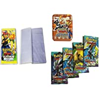 Generic Pokemon Sun and Moon Guardians Rising Cards with Card Album & 4 VIP Cards (104 Album Pocket)