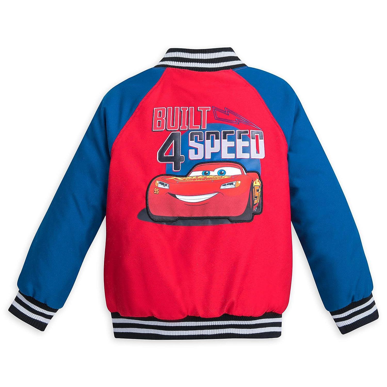 Disney Lightning McQueen Varsity Jacket for Boys Multi