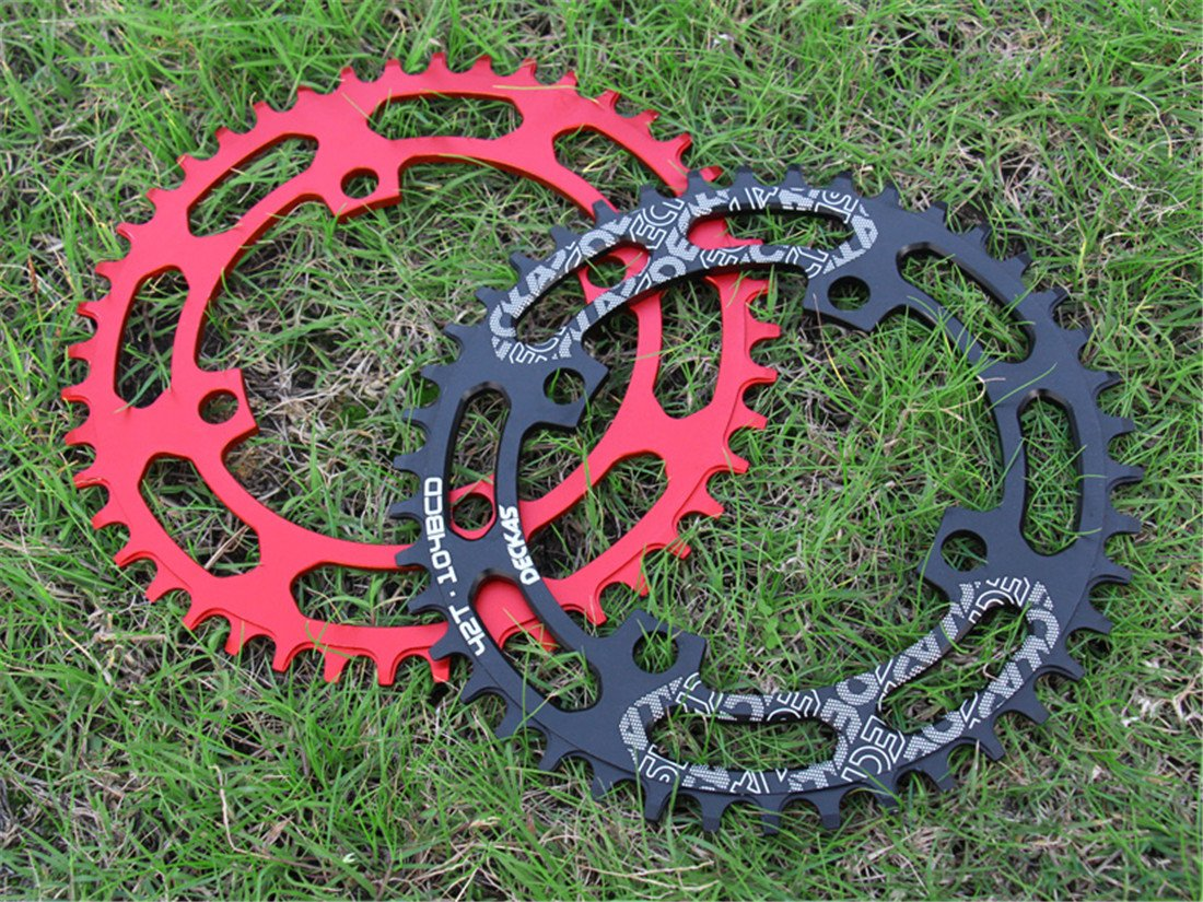 Grofitness BCD 104 Narrow Wide Bike Chainring Mountain Bike Components Single Speed Chainwheel