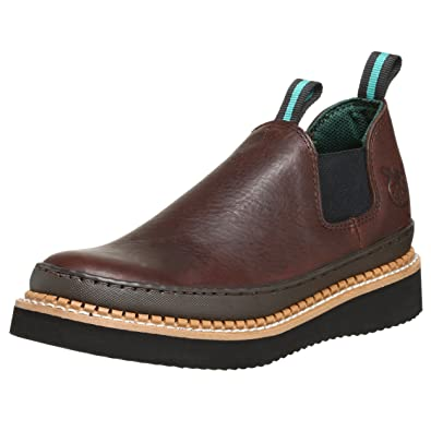 38527459cda Georgia Boot Men's GR274 Giant Romeo Work Shoe, Soggy Brown, 12 W US