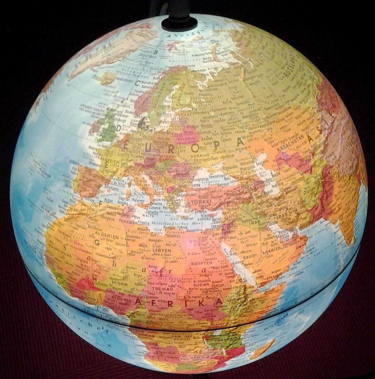 Einschulung geschenk globus
