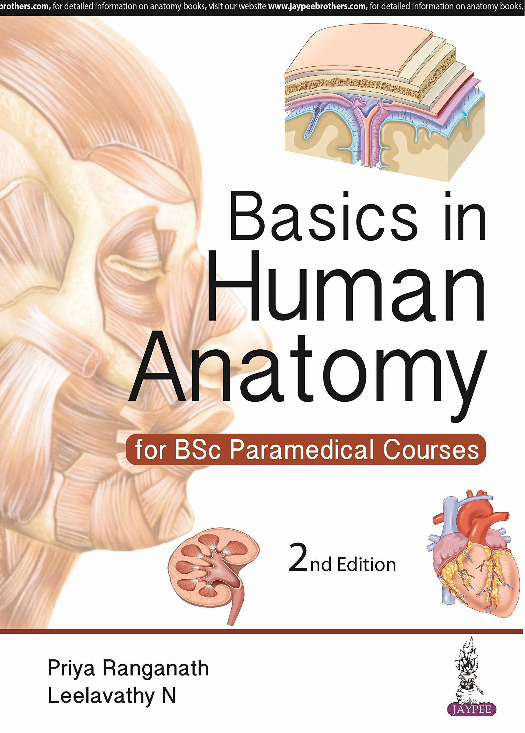 Buy Basics In Human Anatomy For Bsc Paramedical Courses Book Online