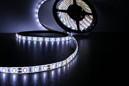 Amazon marswalled led strip lights high cri 80 smd5630 marswalled led strip lights high cri 80 smd5630 waterproof pure white aloadofball Gallery