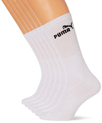 cca8c3941ae Puma - Chaussettes de Sport - Lot de 6 - Homme  Amazon.fr  Sports et ...