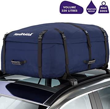 Handiworld Hholdallwr330 Handiholdall 330 Litres Soft Roof Box Auto
