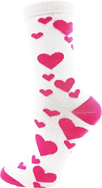 Abstract Art Festival Hippie Rave Boho Socks Blue Valentine Crew Socks Unisex Sizes