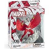 Schleich Marvel - Figura Superhéroe Falcon, 18,4 cm