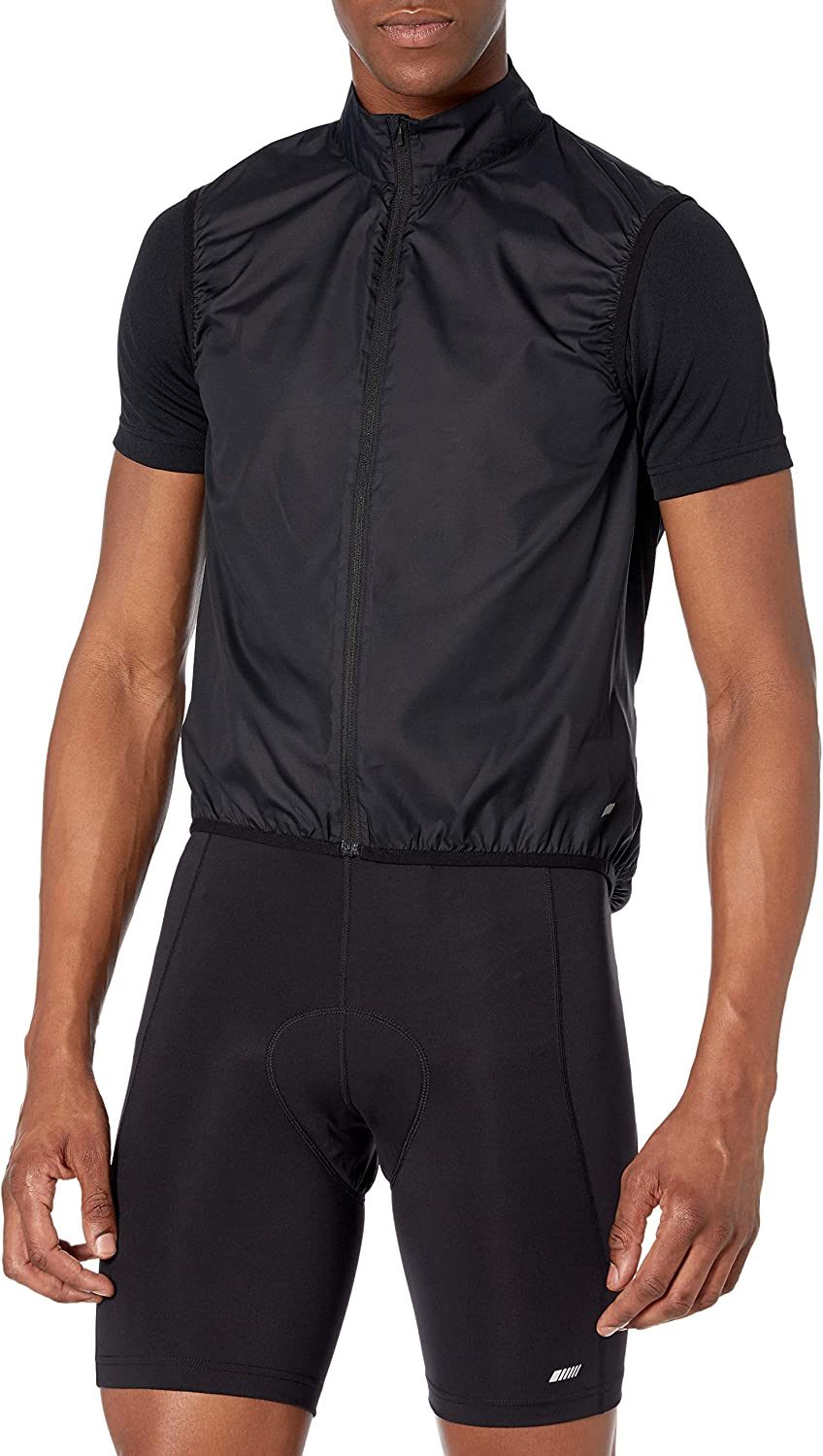 Amazon Essentials Men's Cycling Wind Vest