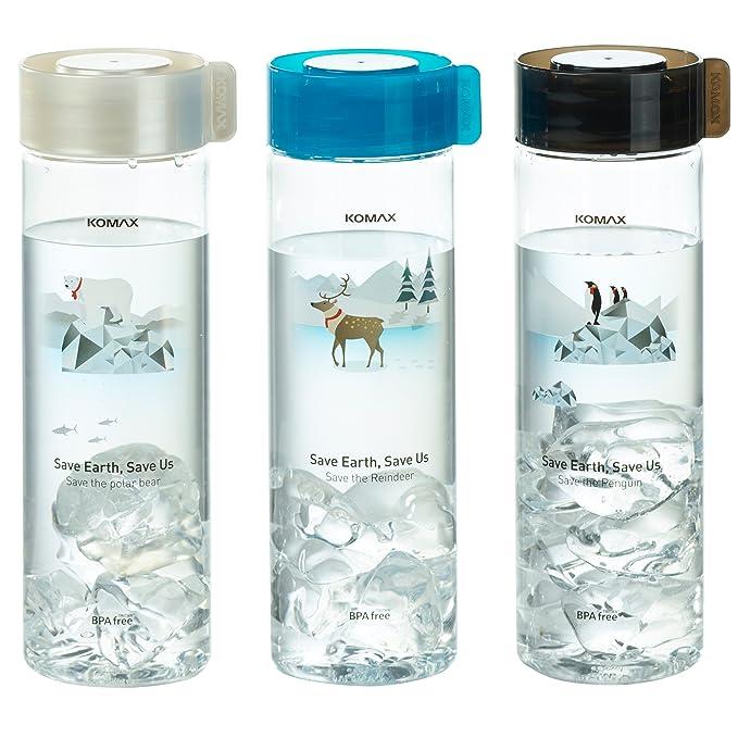 Amazon.com: Komax - Botellas de agua y zumo (3 unidades ...