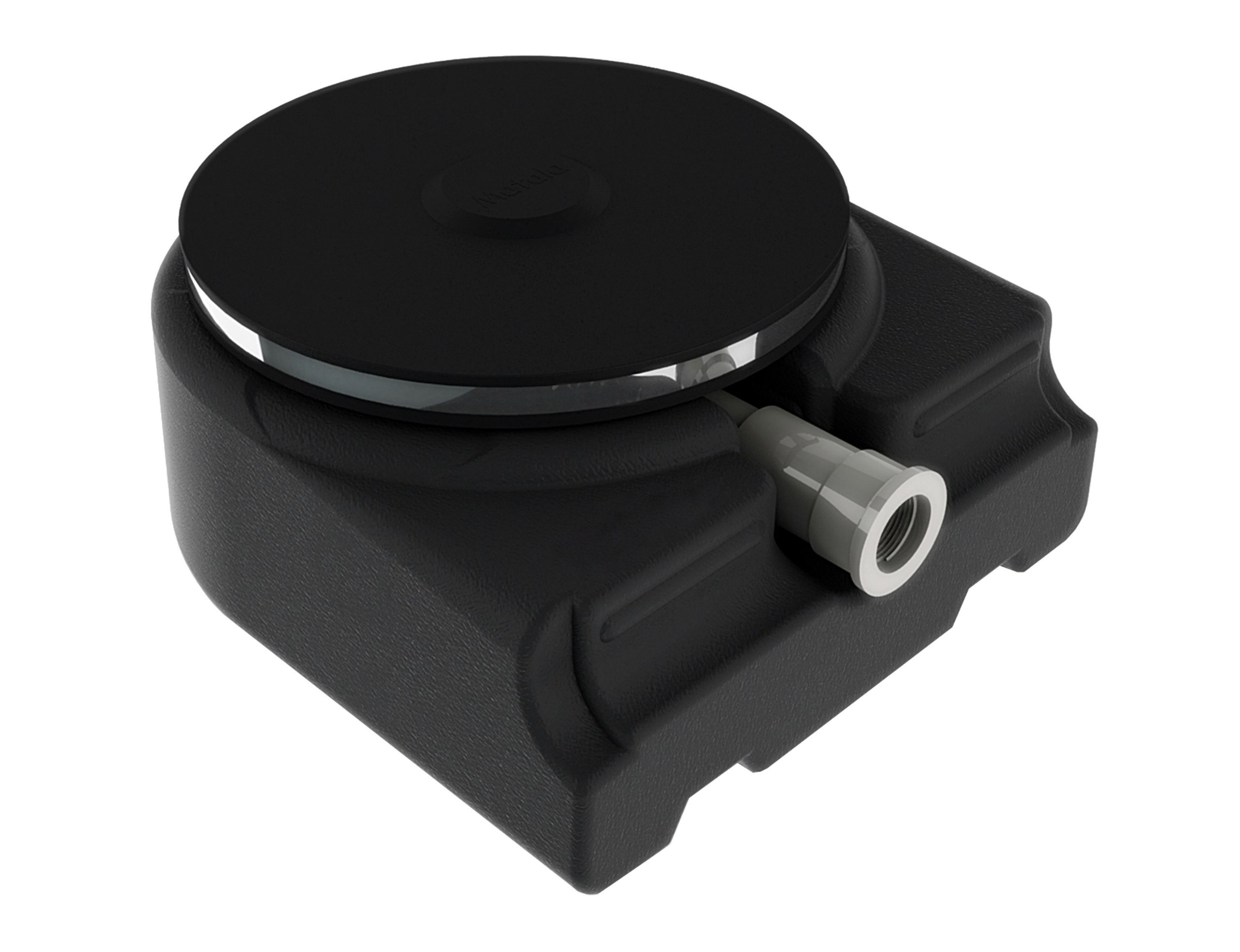 Outdoor Water Solutions ARS0172 9-Inch Rubber Membrane Diffuser with Base