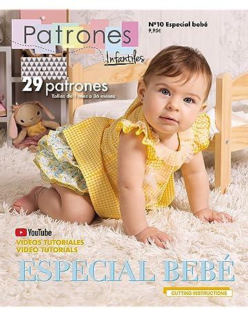 Revista Patrones Infantiles Nº10 Especial Bebé 29 Modelos de Patrones