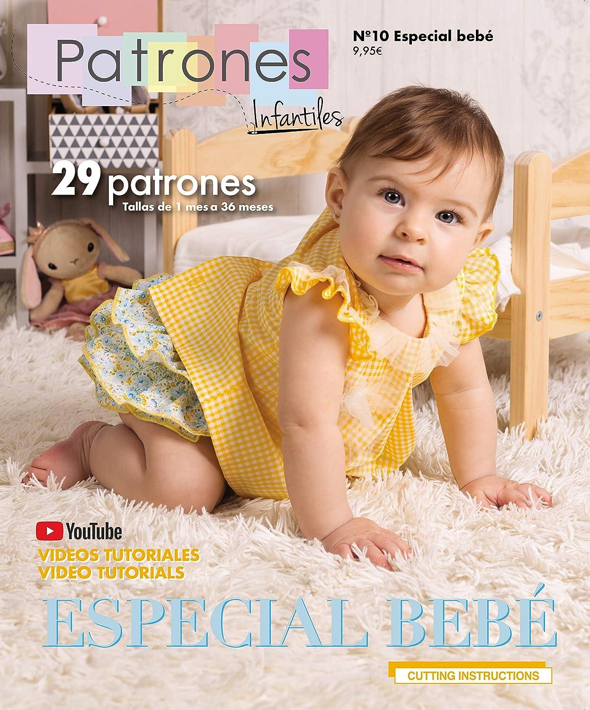 Revista Patrones Infantiles nº 10 Especial Bebé.