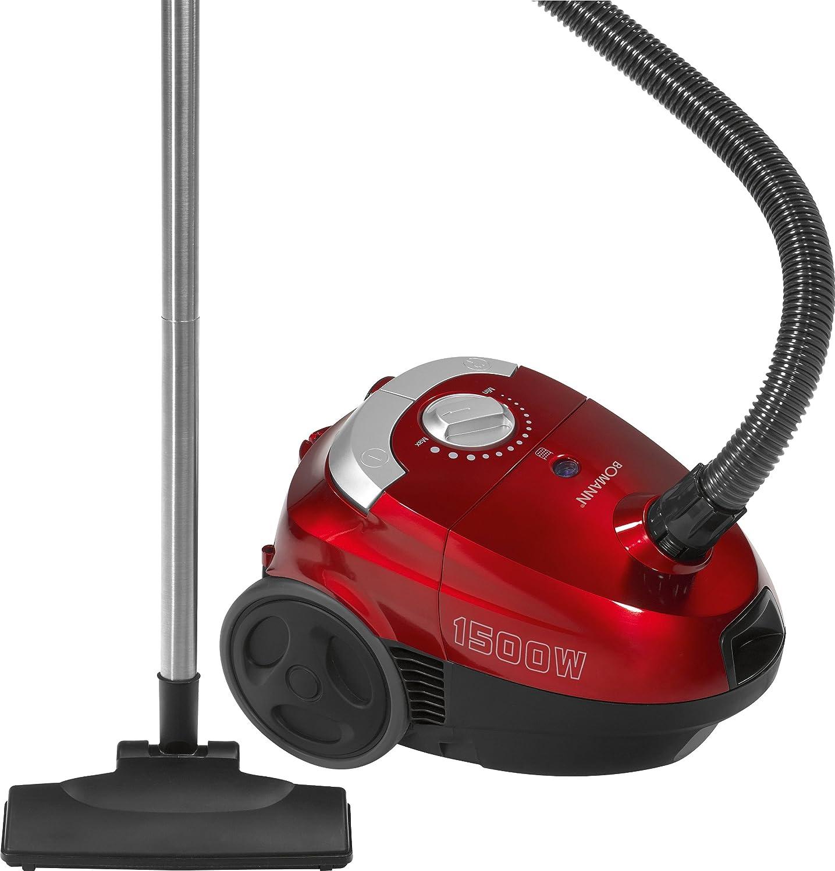 Bomann BS 968 CB, 1500 W, Rojo - Aspirador: Amazon.es: Hogar