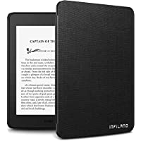 """Infiland Kindle Paperwhite 2018 Case, Lightweight Shell Case Cover Compatible with All-New Amazon Kindle Paperwhite 10th Generation 6"""" 2018 Release(Auto Wake/Sleep), Black"""