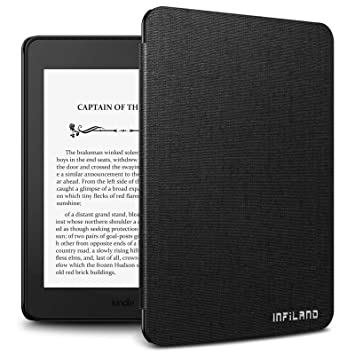 Infiland Case for Kindle Paperwhite (10th Generation-2018 Release),  Thinnest and Lightest Cover Compatible with Amazon Kindle Paperwhite 2018