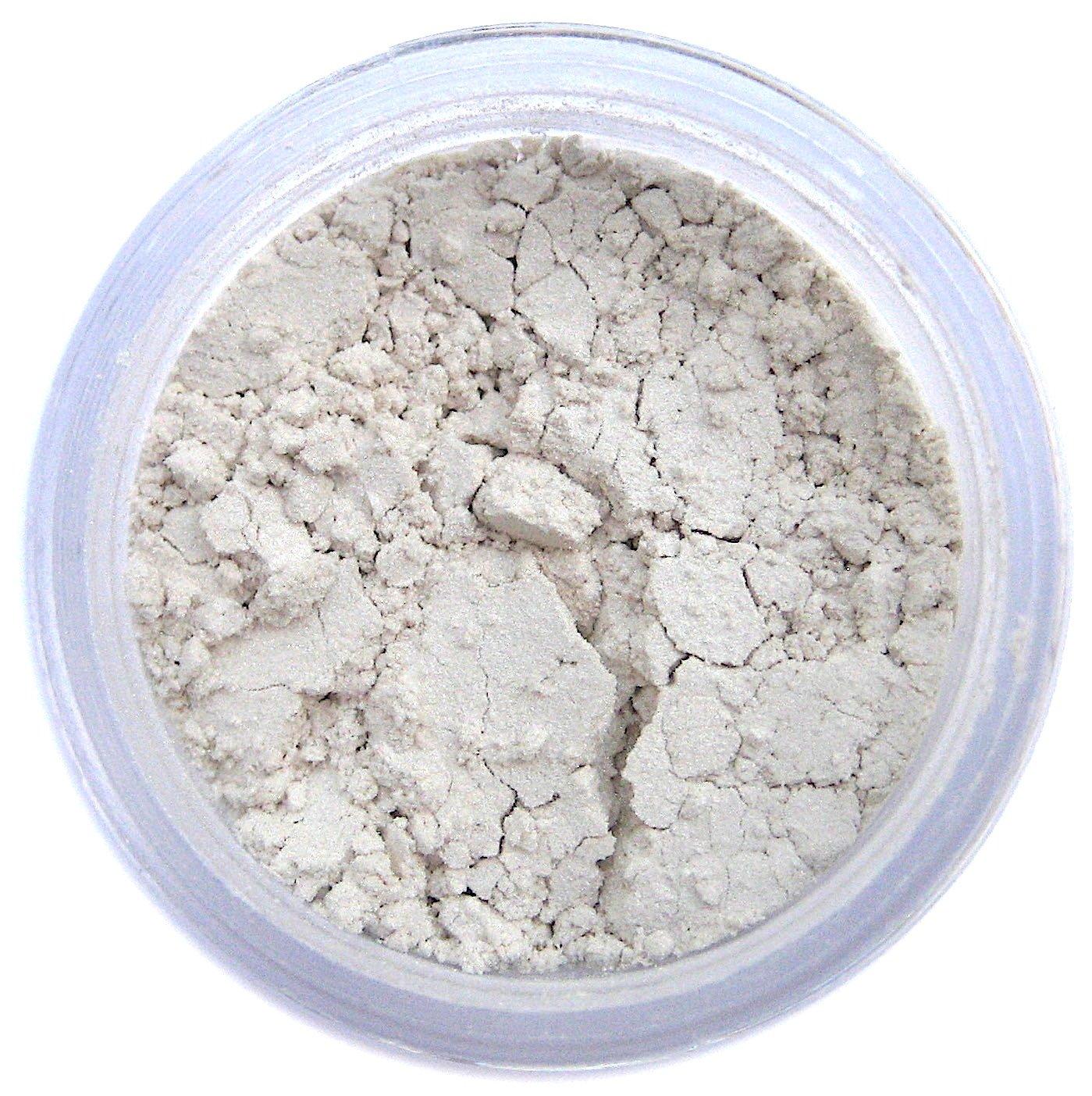 Silk White Edible Luster Dust   Edible Powder & Dust   Food Grade Luster Dust for Decorating, Fondant, Baking   Polvo Matizador   Cakes, Vegan Paint, & Dust   Sunflower Sugar Art