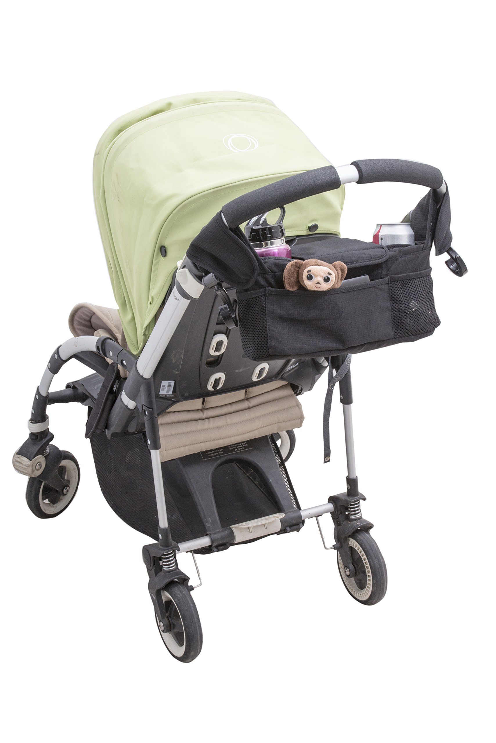 Quality Choices Universal Baby Stroller Organizer with Cup Holder and Two Hooks by Quality Choices (Image #2)