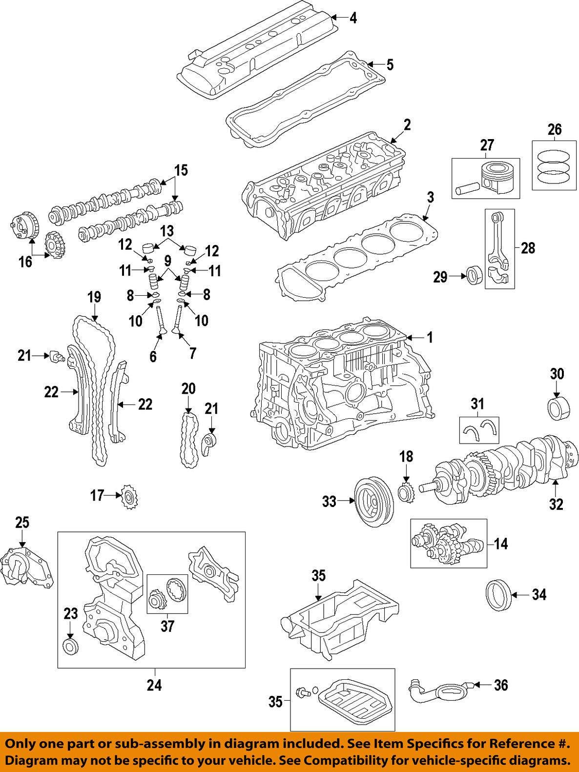 Nissan 12261-JA04B Bearing