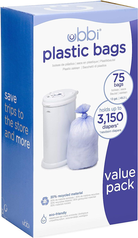 Ubbi U10086-3 packs bolsas de plástico