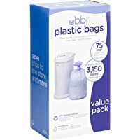 Ubbi Plastic Bags, Pack of 3