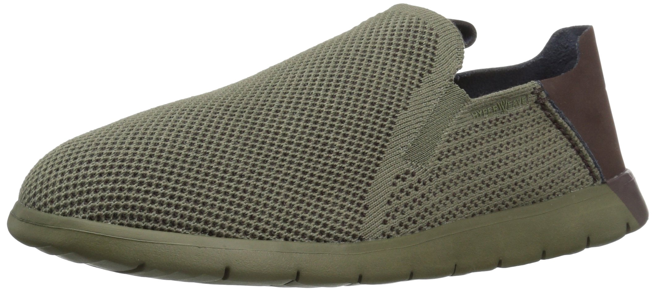 UGG Men's Knox Hyperweave Fashion Sneaker, Burnt Olive, 9.5 US/9.5 M US