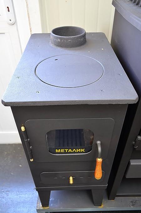 Estufa de leña de Metalik, para leña, combustible só