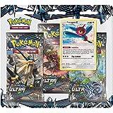 Pokemon TCG: Sun & Moon Ultra Prism- Porygon-Z | Includes 3 Ultra Prism Blister Packs, 1 Holofoil Promo Porygon-Z Card | Total of 31 Authentic Pokemon Cards