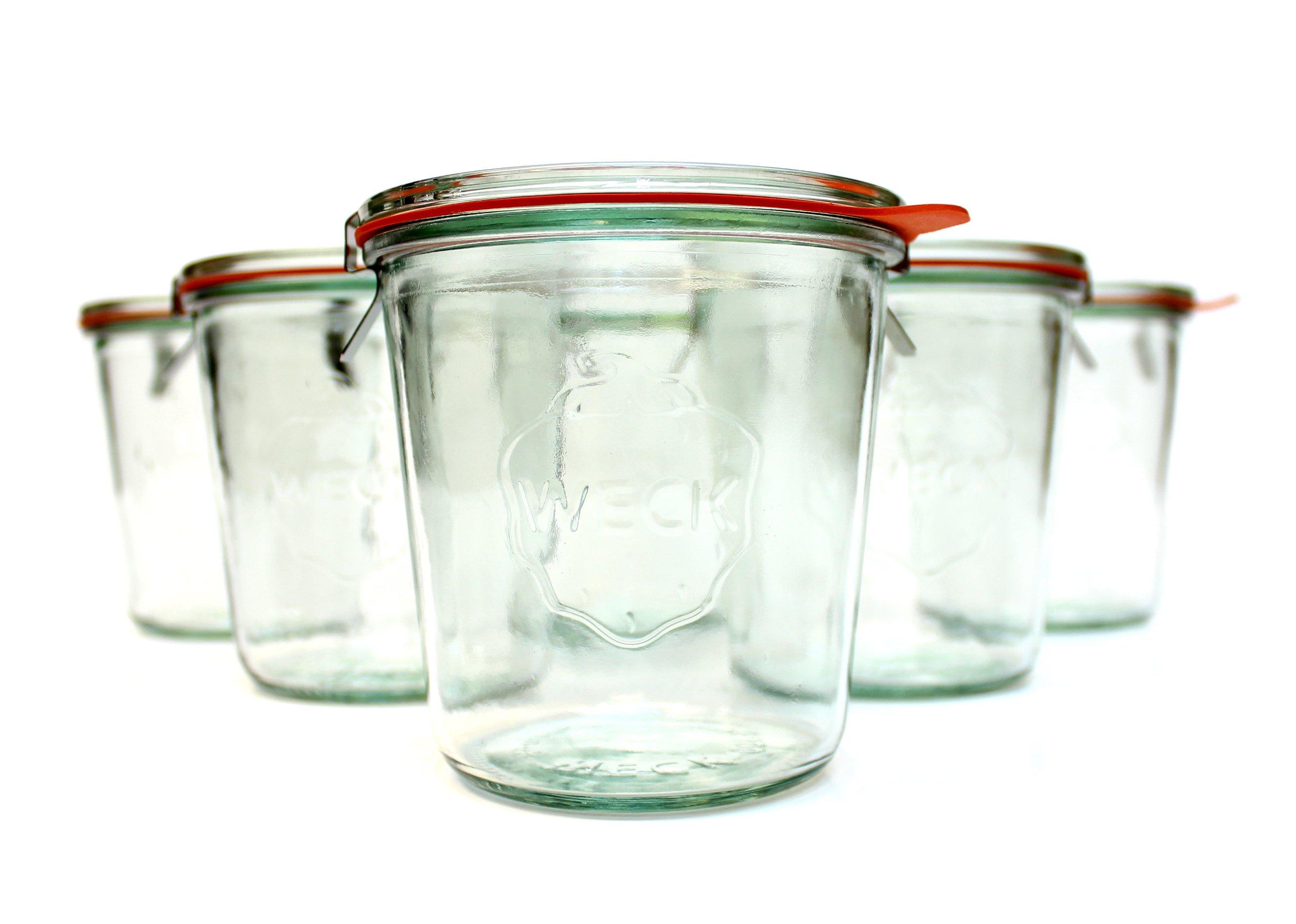 Weck 742 500mL (1/2L) Canning Jar; SET OF 6