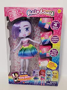 Boxy Girls - Rainbows Limited Edition - Violet