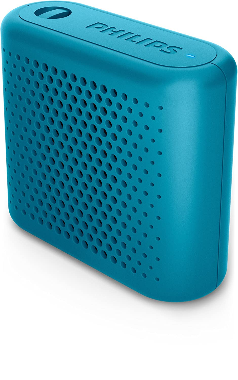 Philips BT55A - Mini Altavoz Bluetooth inalámbrico portatil, Compatible con Smartphones, iPhone, Android y Tablet, Azul: Philips: Amazon.es: Electrónica