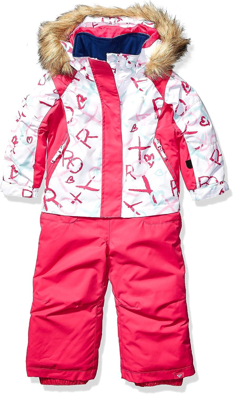 Bright White School Day 4//5 Roxy Snow Girls Little Paradise Jumpsuit