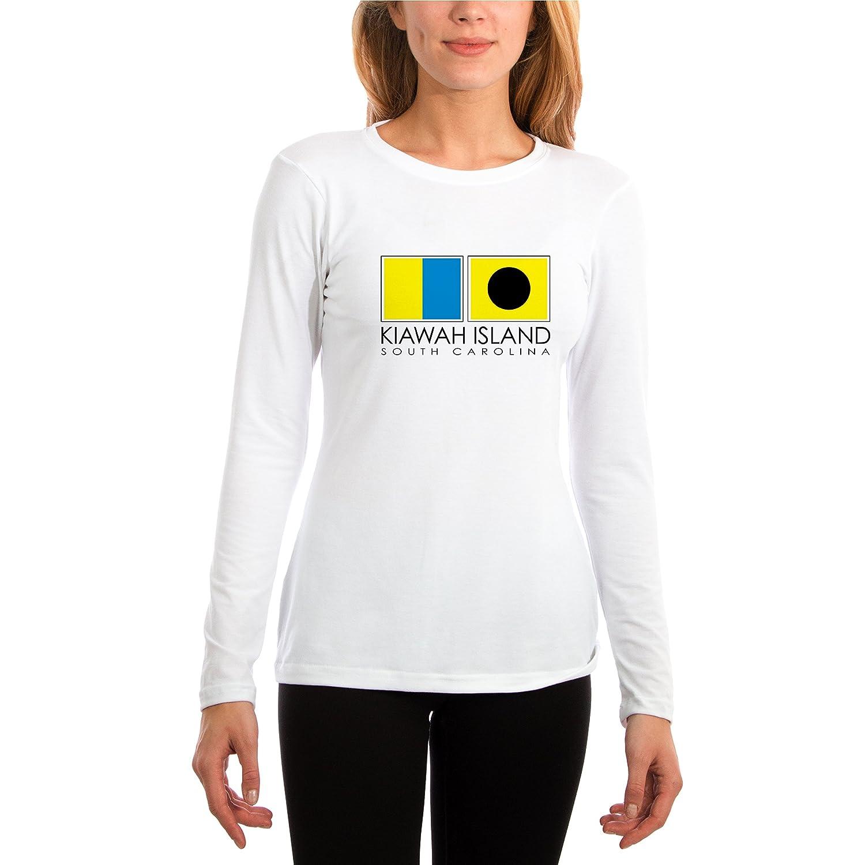 Altered Latitudes Kiawah Island Nautical Flags Slim Fit Performance Shirt