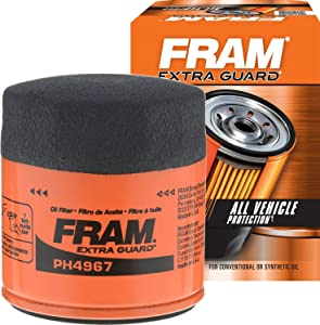 FRAM PH4967 Extra Guard Passenger Car Spin-On Oil Filter