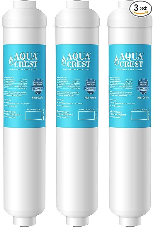 Amazon.com: AQUACREST GXRTDR Filtro de agua en línea ...