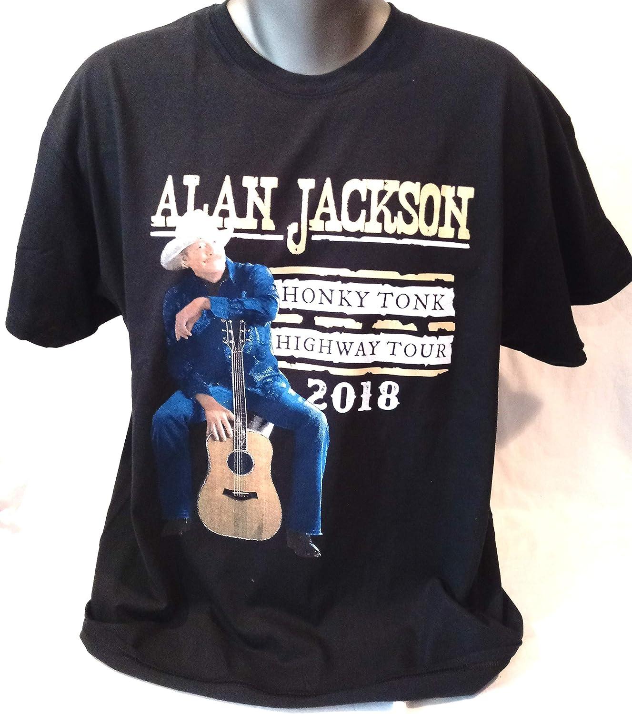made in USA t shirt large 100/% cotton Alan Jackson tour t shirt