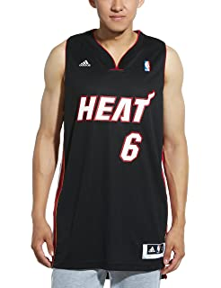 2cab9bc2ab4 Amazon.com : NBA Miami Heat LeBron James Swingman Jersey, White ...