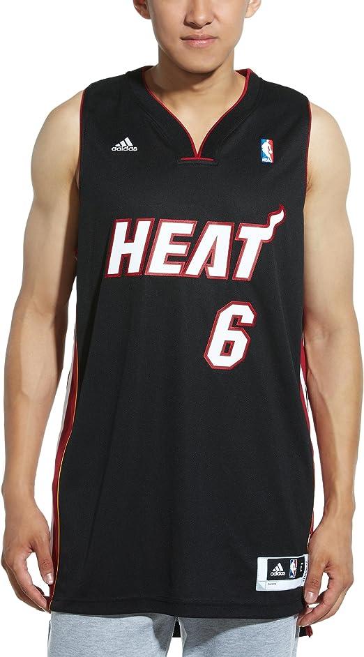Amazon Com Nba Miami Heat Lebron James Swingman Jersey White Xx Large Sports Fan Jerseys Clothing