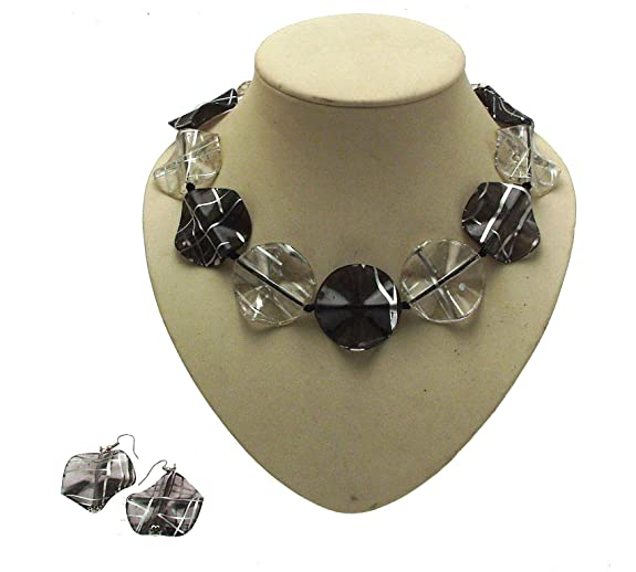 Multi Coloured Necklace Chunky Necklaces For Women Statement Necklaces AW59 9AYzbbUDnK